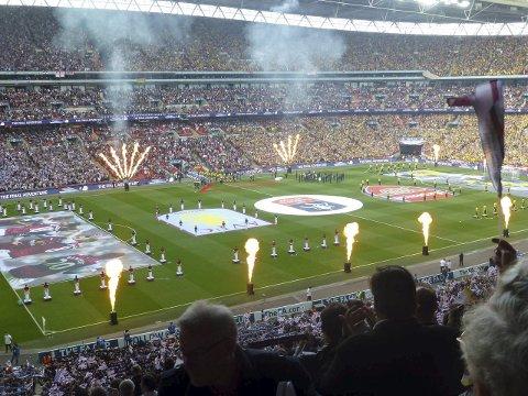 Wembley: Lofotpostens Tippemester vinner en weekendtur til London fra 18. til 22. mai 2016. Flybilletter tur retur, hotell og billett til FA Cup-finalen på ærverdige Wembley 21. mai er inkludert.Foto: Kristian Rothli