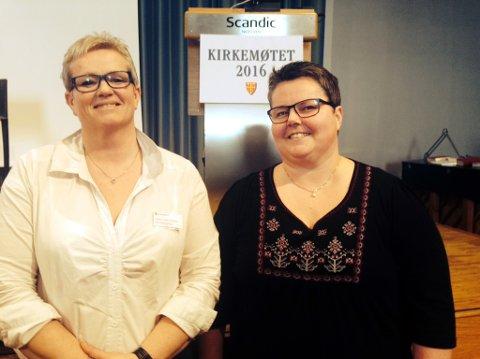 Anne Jorid Gjertsen fra Moskenes og Kristine Sandmæl fra Vågan.