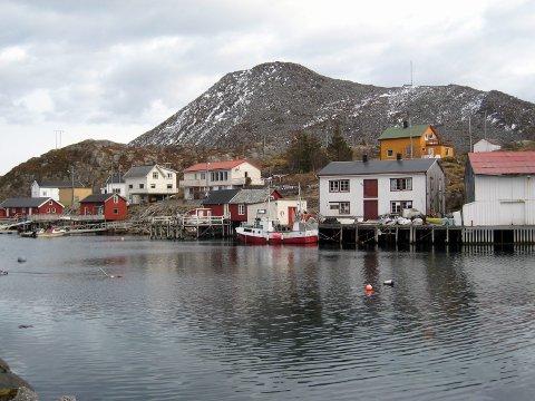 Skrova: I dag fredag 13. februar fikk Skrova og havområdene rundt øya mobilt datasamband for 4G+. Arkivfoto