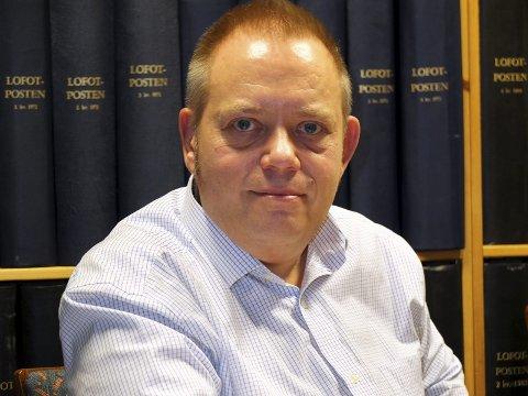 Fornøyd: Styreleder Egil Wiik er fornøyd med fusjonen mellom Lofoten BBL og Nobl