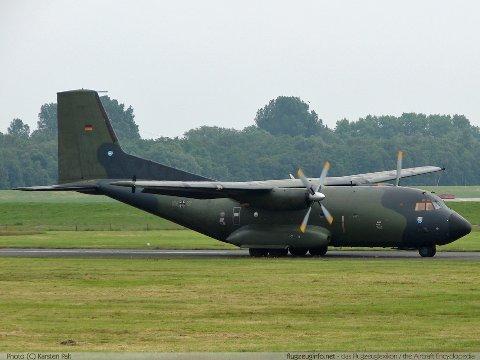 Et fly av denne typen fra det tyske luftforsvaret øver i Nord-Norge denne uka.