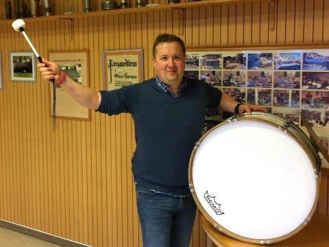 Fornøyd: Styreleder i Kabelvåg musikkforening, Bjørn Inge Berg, er godt fornøyd med helgas musikkstevne.