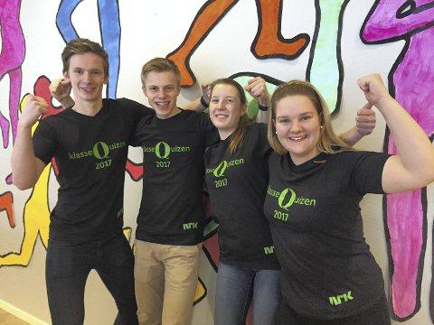Laget består av Joakim Svartsund, Magnus Holm, Pia Pedersen og Tora Schultz.