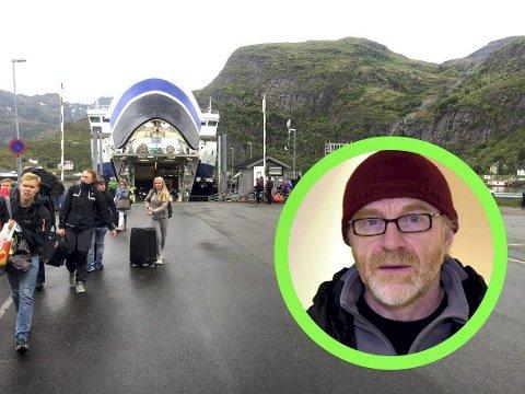 : Fotograf, friluftsmann og forfatter Kjell Ove Storvik. Foto: Ingvil Valberg/Lofotposten