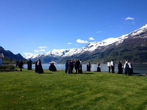 KORET: Norges Ungdomskor, her avbildet, skal holde konsert førstkommende lørdag i Lofotkatedralen.