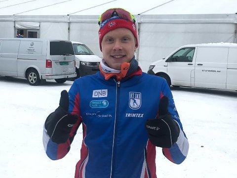 65.plass: Arnt Gunnar Winther fra Svolvær gjørde det bedre i NM i ski enn han forventet selv.