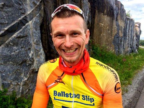 Lofoten Sykkelklubb: Leder i Lofoten Sykkelklubb, Johnny Strømnes gleder seg stort over at The Arctic Race legger to av sine fire etapper til Lofoten.