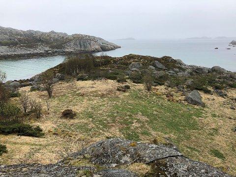 Kulturminne: I mai gravde noen opp rundt 80 hull på et fredet kulturminne på Kalleholmen. Politiet etterforsker nå saken.