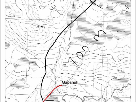 700 meter: Skiklubben ønsker å utvide løypa på Leknes opp til Gammen.