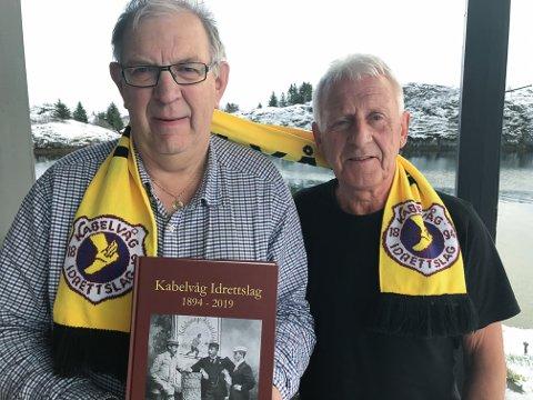 Et tidsvitne om ei 125 år lang idrettshistorie i Kabelvåg, sier redaktør Håkon Brun og KIL-patriot Jon Martin Bye.