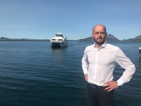 Samferdselssjef Odd Steinar Åfar Viseth i Nordland.