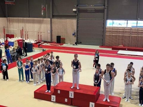 62659fb7 VANT: Turner Nikolai Berg Fredriksen (15) fra Kabelvåg vant sin klasse i  Norgescupen. TURN: ...
