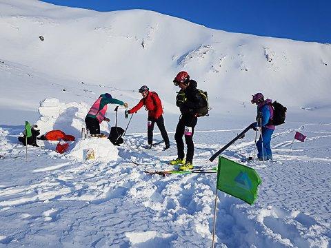 Avlyst: Lofoten Skimo er avlyst. Her fra fjorårets arrangement.