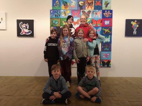 Benjamin Karlsen (15), Nina Jo, Aleksander Brekkan Larsen (10), Enna Thöle Juul (10), Margareth Oftedal Emilsen (9), Elvira Rørtveit Jensen (9), Jakob Esperød Meatzing (8) og Olav Oftedal Emilsen (7).