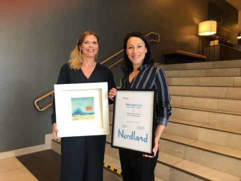 Lofoten Seaweed Company mottok Nordland Fylkes Næringspris tidligere i sommer.