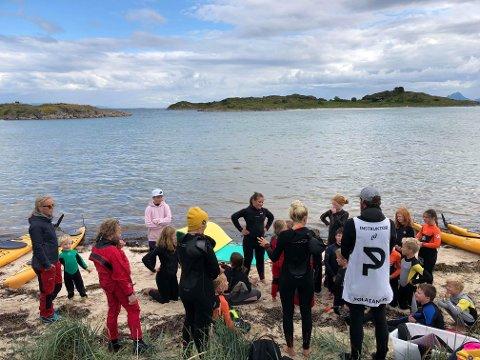 Mye aktivitet: Deltakerne under fjorårets Sea Skrova fikk oppleve mye både på land og i vann. Det lover arrangørene blir tilfelle under årets festival også.