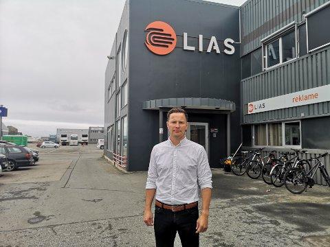 På plass: Kjartan Ridderseth har overtatt etter Odd-Magne Steffensen som administrerende direktør i LIAS.