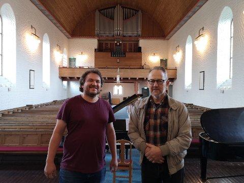 Konsert: Terje Brun, Helge Vikjord med flere inviterer til konsert til inntekt for nytt orgel i Svolvær kirke.