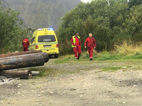 FIKK HJELP: Turgåer måtte be om hjelp underveis på tur til Sversvika.