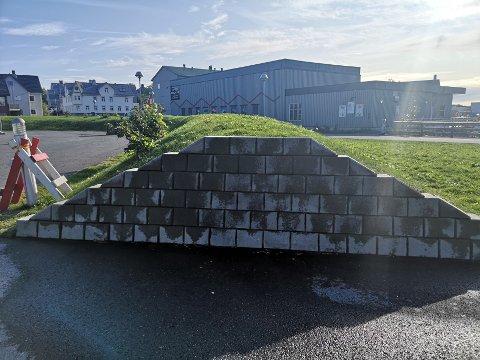 Amfi-parken er nå rengjort og ryddet - og dermed klar til nye besøk av byens minste.