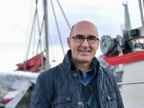 Vil bygge ut: Administrerende direktør Svein Ove Haugland i Norges Råfisklag vil utvikle råfisklagets eiendom i Svolvær-.