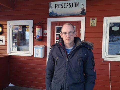 Allerede i vinter begynte Kåre Andreas Rønning å bygge ut Lyngvær Lofoten Bobilcamping.