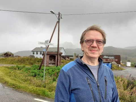 Rektor ved Eltoft Montessoriskole, Frank Robert Svendsen.