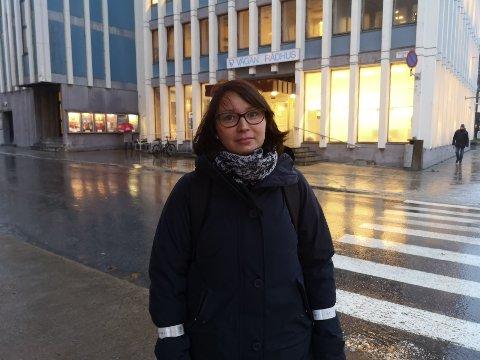 Teknologi: Omsorgsleder i Vågan, Anne-Lene Nygård, tror teknologi er fremtiden for eldreomsorgen.
