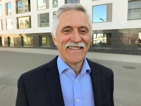 ÅPNING 2021: Banksjef Werner Martinsen i Sparebank 68° Nord avdeling Lofoten har ansvaret både på Leknes og Bøstad, og for den nye avdelingsbanken i Svolvær i 2021.