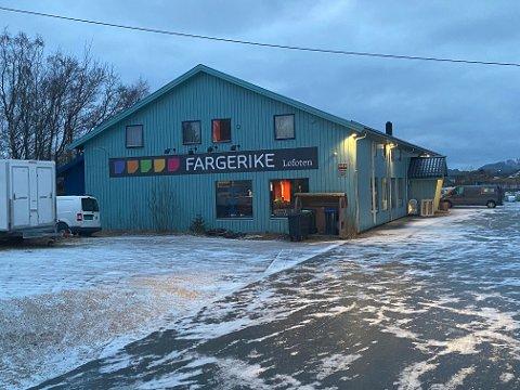 FYGLE: Lofoten Interiør AS eier og driver Fargerike Lofoten på Fygle