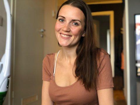 BEHANDLING: Regine Haddal er plukket ut til en studie av ny kreftmedisin i Norge. 26-åringen har fått tilbakefall av kreft, og da operasjon ble utelukket kom kreftlegen fram til at hun var en god kandidat til forsøksprosjektet som varer i 2,5 år.