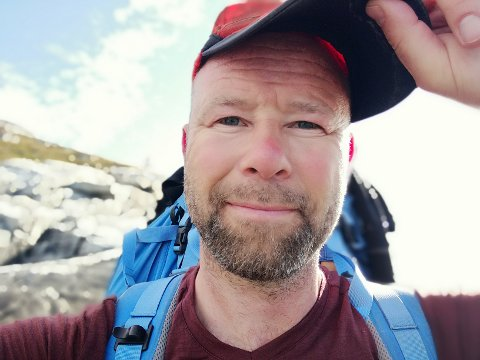 Ut av loop'en: Et annerledes år uten fast jobb. Finn-Åsmund Holst Sandnes har tatt ett års permisjon fra jobben som lærer ved Idrettsfag på Vest-Lofoten videregående. Fysisk arbeid og mer friluftsliv venter.