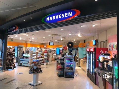 STENGER: Narvesen i Alti kjøpesenter stenger dørene den 23. september.