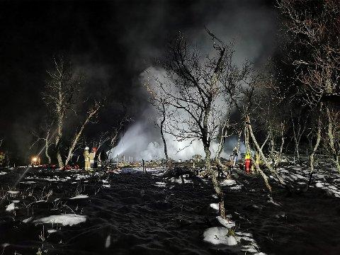 DØDSBRANN: Fem personer omkom i brannen.