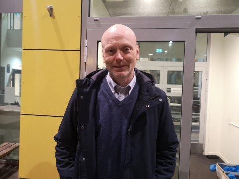 Rektor: Rektor ved Svolvær skole, Ronnie Maas Pedersen.