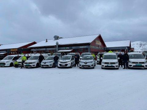 NY STASJON: De ansatte i Lofoten Elektro kan juble for ny montørstasjon.