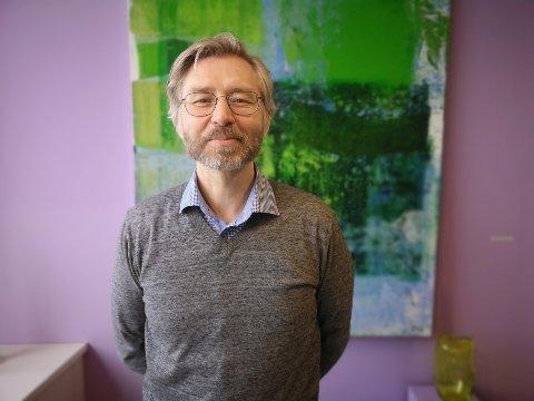 Ny jobb: Svein Ingvoll Pedersen går fra stillingen som leder ved Nordnorsk Kunstnersenter. I august overtar han som avdelingsdirektør ved Museum Nord avdeling Vågan.