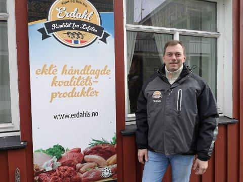 Vurderer fremtiden: – Det er en sannhet at vi vurderer å flytte, forteller eier av Erdahl kjøttforretning, Sigurd Erdahl.