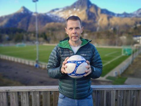 Leder: Lars Andersen er valgt til ny leder i Svolvær idrettslag.