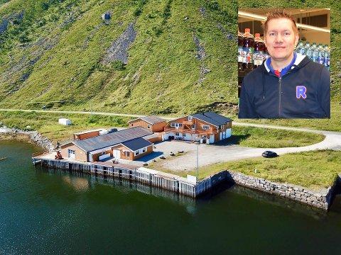 FORNØYD: Kent Kristoffersen er fornøyd etter at denne eiendommen på Kleiva blir familiens nye feriested.