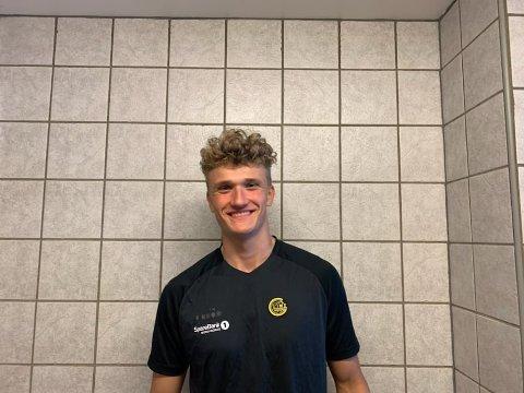 DEBY: Svolværværingen Sigurd Ekrem (18) spilte for A-laget til Bodø-Glimt i helga.