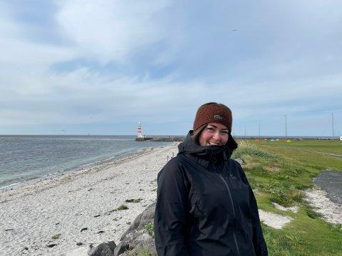 Sara Louise Einarsdóttir (29) har fulgt røttene sine tilbake til Island