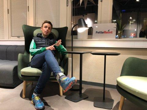 Andreas Eriksen fikk ikke kalle selskapet sitt for Fette Reint AS. Nå har næringsdepartementet sagt sitt.