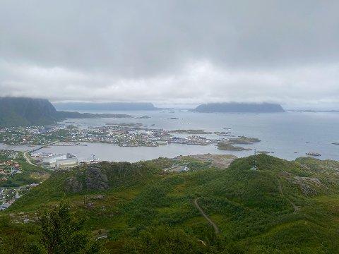 Bilde av den mest populære turen i Vågan sin ti på topp: Linken i Svolvær