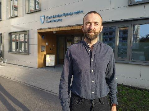 Jan Håkon Juul kommuneoverlege i Vågan.