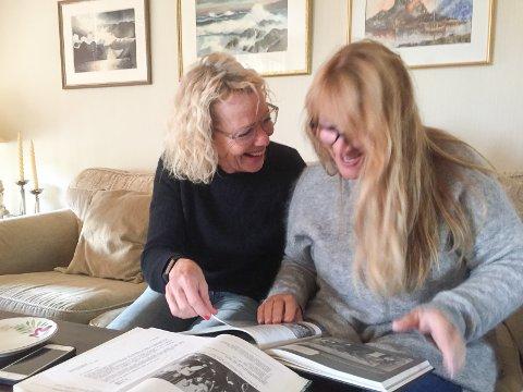 Eli Rygg og Margrete Wiede Aasland er gode venner og skriver nå sin andre bok sammen. De prøver å finne ut av om deres bestemødre kan ha vært like gode venner som de er.