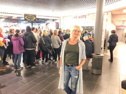 Butikkene som Rita Iren Nordheim driver i Lofotsenteret har hatt bedre besøkte tider, som arkivbildet viser.