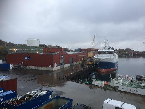 Fabrikken til Lerøy i Stamsund.