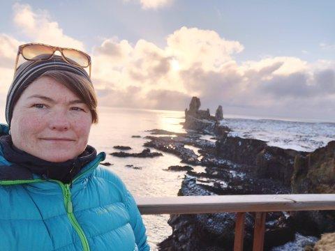 Fra turen til Londrangar på Vest-Island.