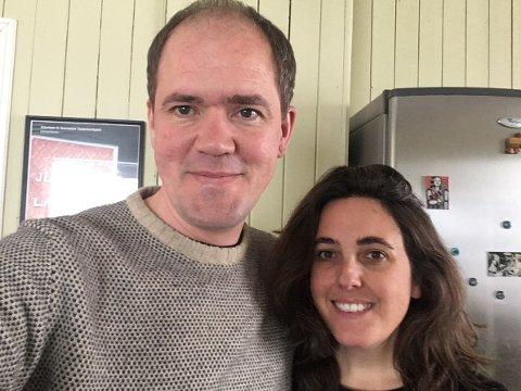 Andreas Eilertsen og Cristina Granados har drevet teater i Stamsund siden 2006.
